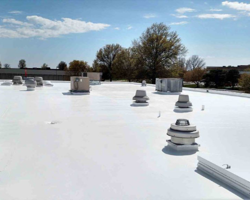 Commercial Tpo Roof Replacement In Downtown Denver