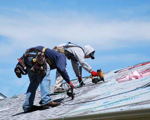 Denver Roofers Replacing A Roof On A Single Family Home