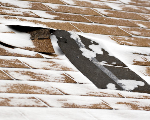 Wind Damage To Denver Homes Shingles