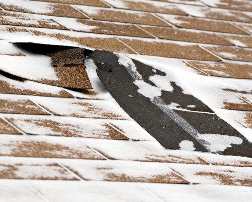 Wind Damage To Denver Homes Shingles