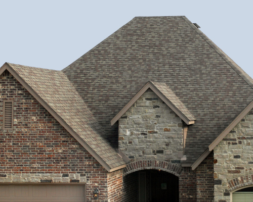 class 4 hail impact resistant shingles on a residential roof