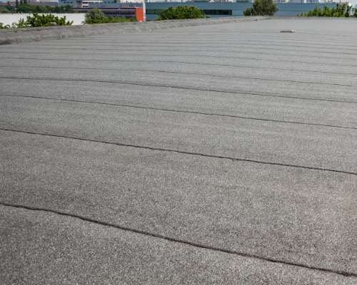 modified bitumen flat roof replacement