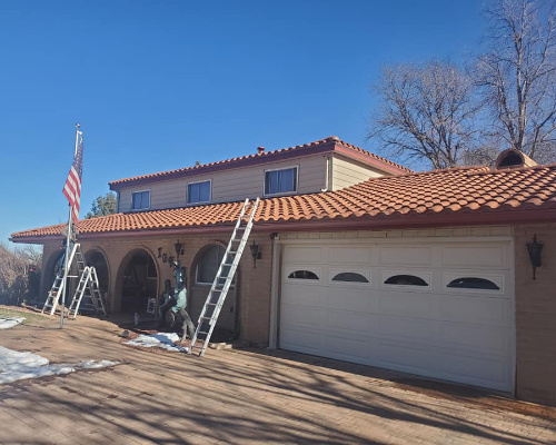 newly replaced tile roofing system by maxx roof llc