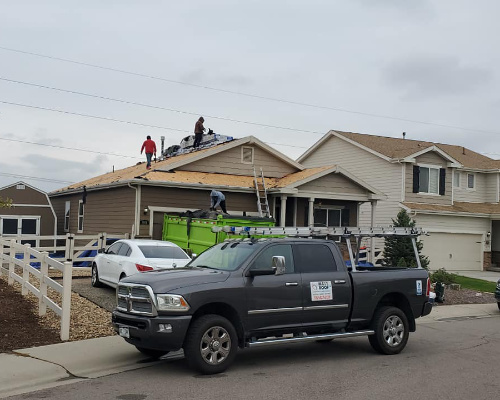 roof replacement in denver by maxx roof llc