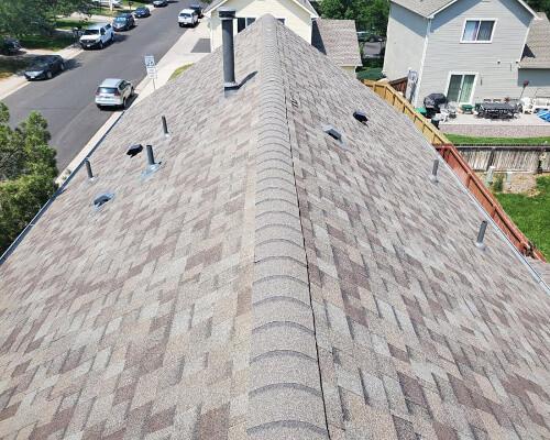 asphalt shingle roof replacement in denver