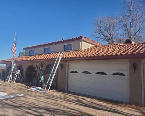 maxx roof llc doing maintenance on a tile roof